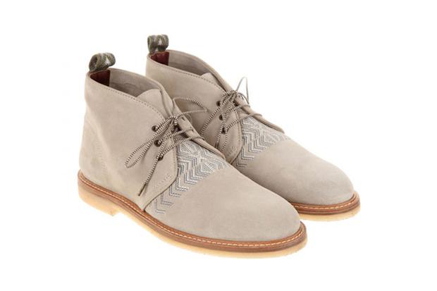 Missoni 2013 Spring/Summer Desert Boots