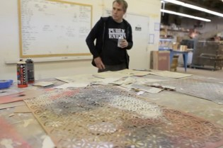 Montana Colors Pays a Visit to Shepard Fairey's Studio