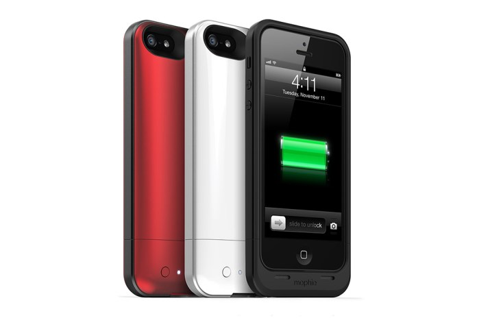 mophie iPhone 5 Juice Pack Air Battery Case