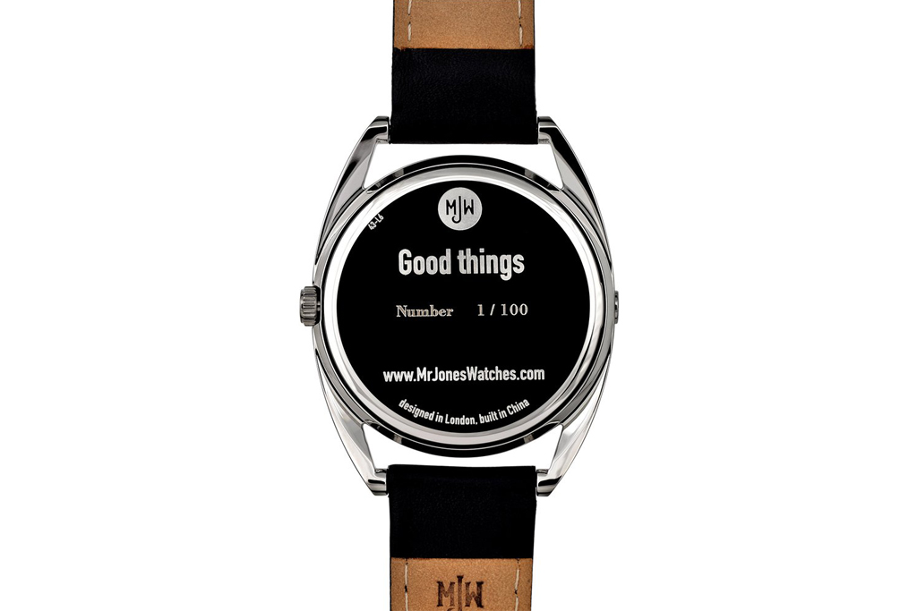"Mr Jones Watches ""Good Things"" Watch"