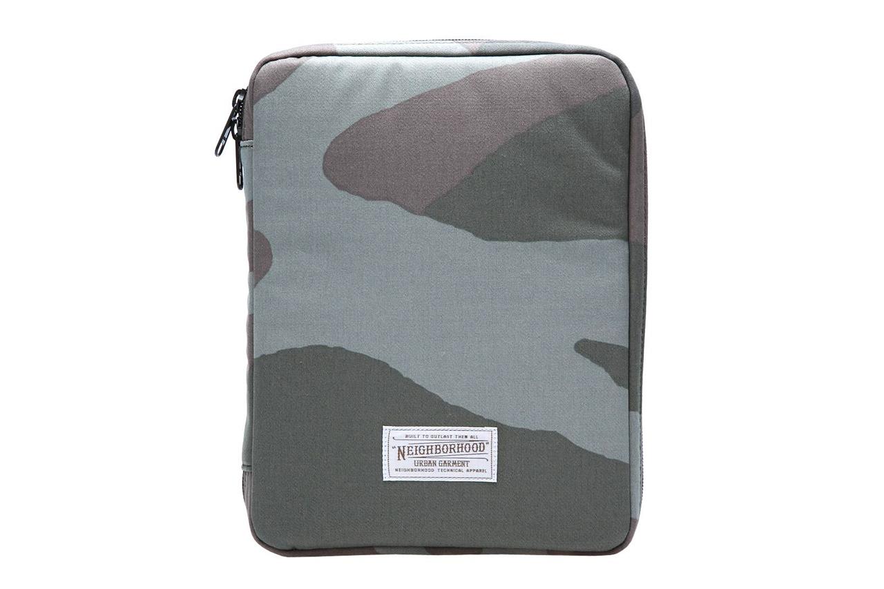 NEIGHBORHOOD x Porter Woodland Camo iPad Case