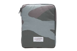 NEIGHBORHOOD x Porter Woodland Camo iPad Case