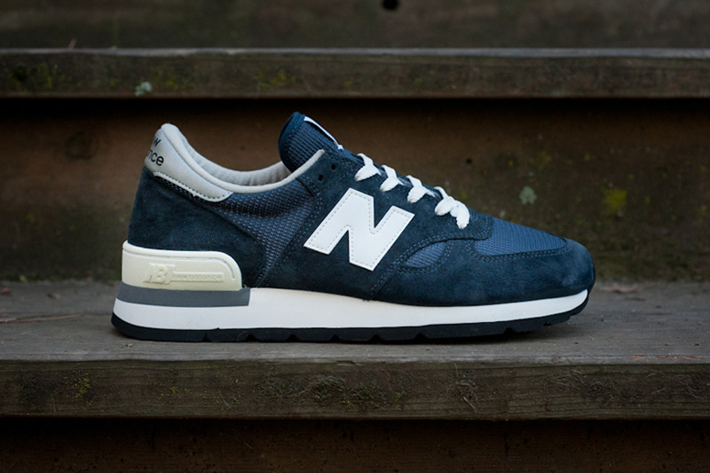 "New Balance 990 ""Made in USA"" Navy Re-Issue"