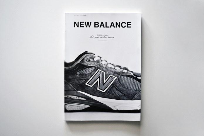 """New Balance Japan """"Let's make excellent happen."""" Booklet"""