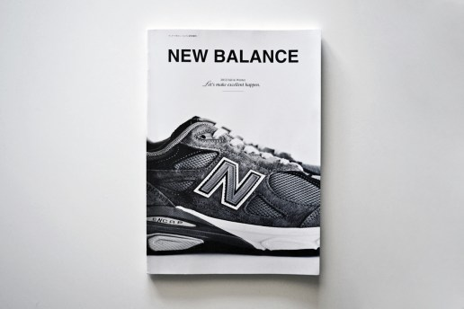 "New Balance Japan ""Let's make excellent happen."" Booklet"