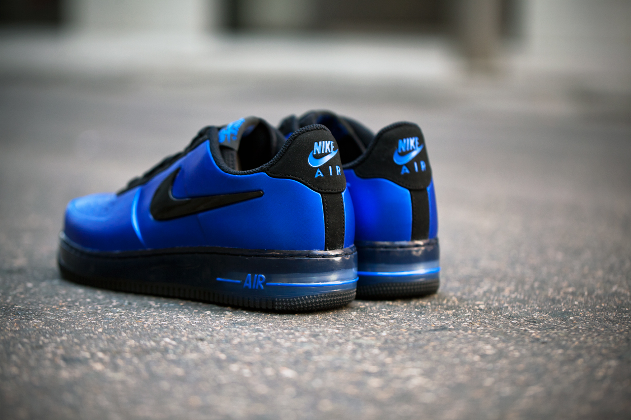 nike air force 1 low foamposite royal