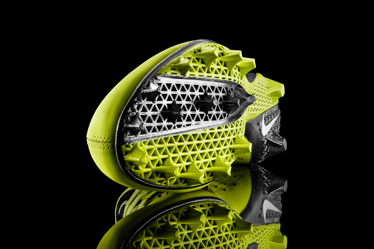 nike debuts 3d printed vapor laser talon cleat