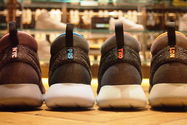 "Nike Roshe Run Mid ""New York, Paris, Tokyo, London"" Collection"