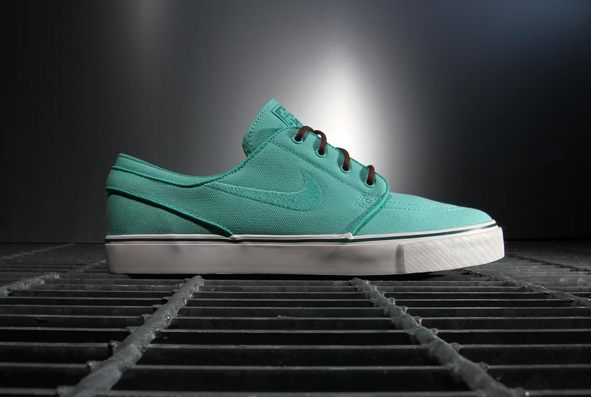 "Nike SB 2013 Spring/Summer Zoom Stefan Janoski ""Crystal Mint"""