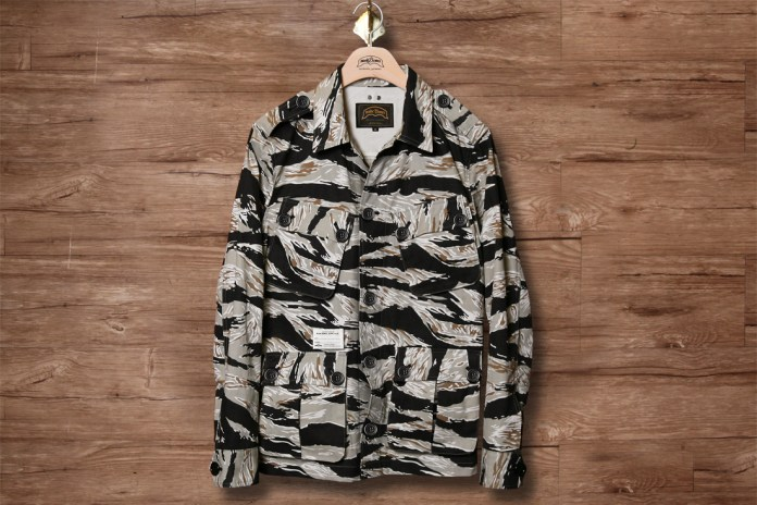Nudebones 2013 Spring/Summer Harringcon Twilled Tiger Camoflage