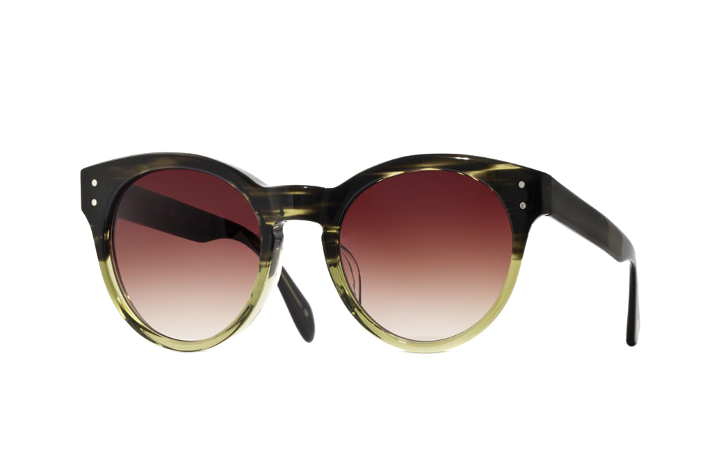 maison kitsune x oliver peoples 2013 spring summer collection