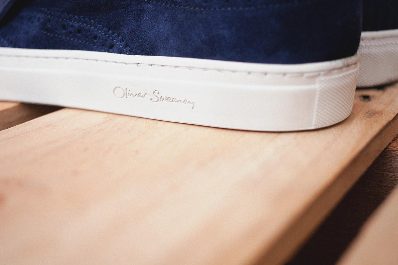 Oliver Sweeney 2013 Spring/Summer Preci Navy