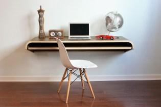 Orange22 Design Lab Minimal Float Wall Desk
