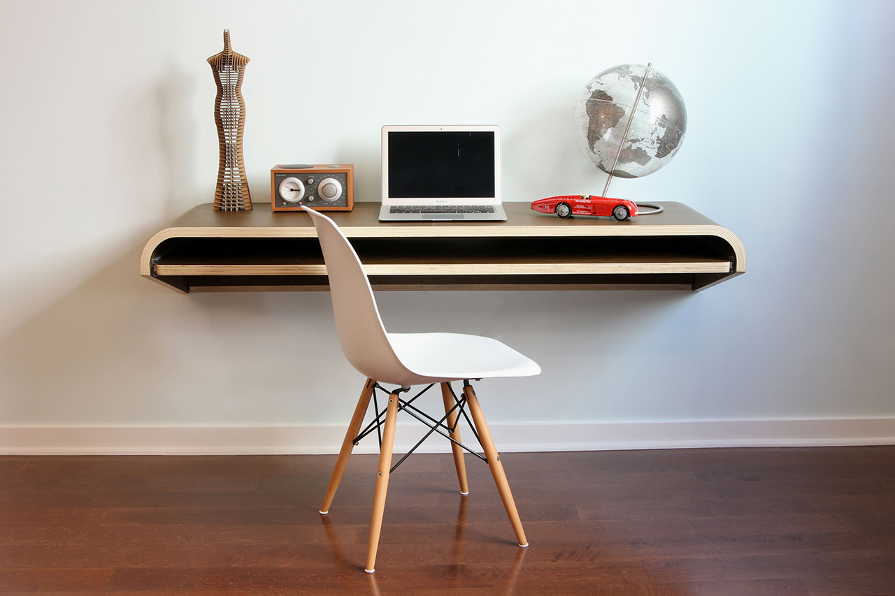 Orange22 Design Lab Minimal Float Wall Desk