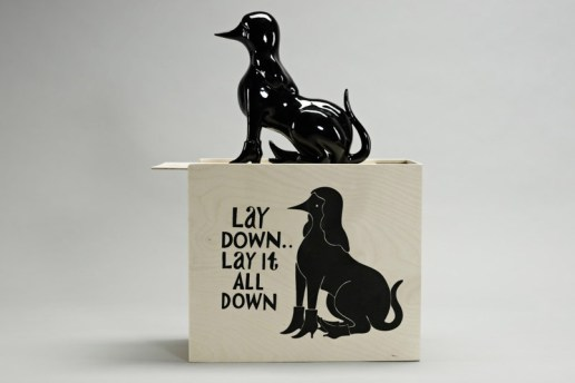 "Parra x Case Studyo ""Lay Down...Lay It All Down"" Porcelain Sculpture"