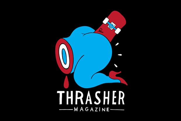"Parra x Thrasher ""Credit Card"" T-Shirt"
