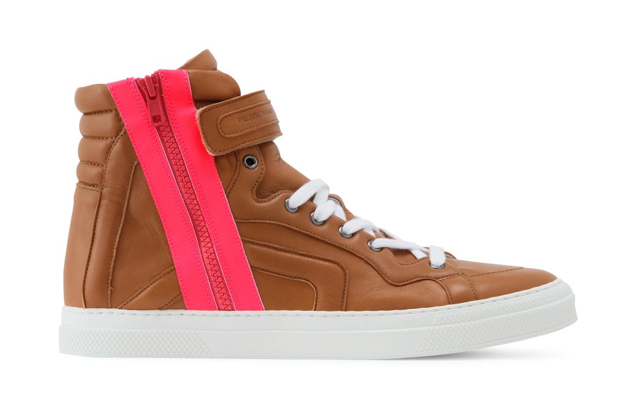 pierre hardy 2013 spring summer side zip sneaker