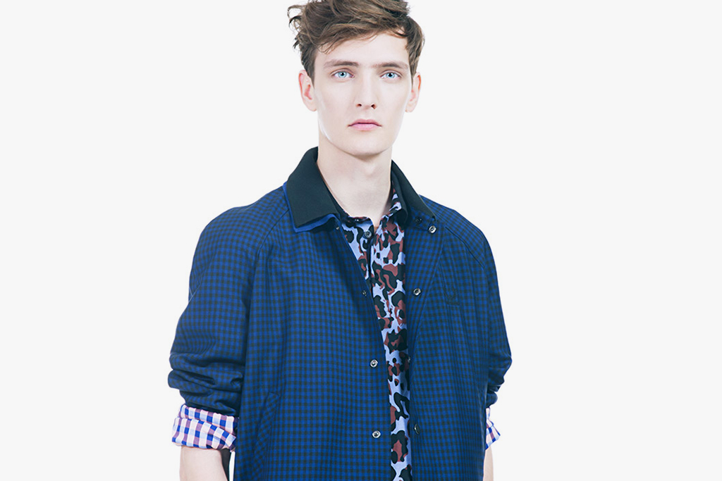 "Raf Simons x Fred Perry Laurel Wreath 2013 Spring/Summer ""Collage"" Lookbook"