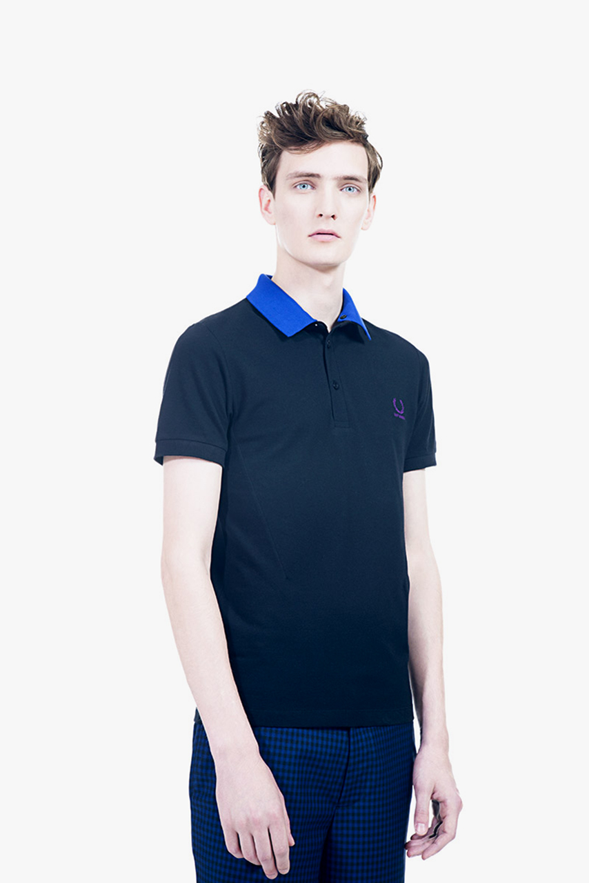 raf simons x fred perry laurel wreath 2013 spring summer collage collection