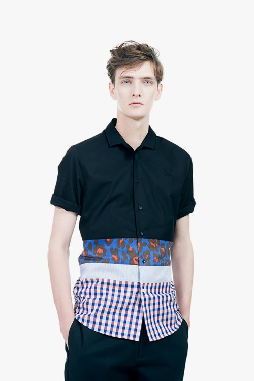 """Raf Simons x Fred Perry Laurel Wreath 2013 Spring/Summer """"Collage"""" Lookbook"""