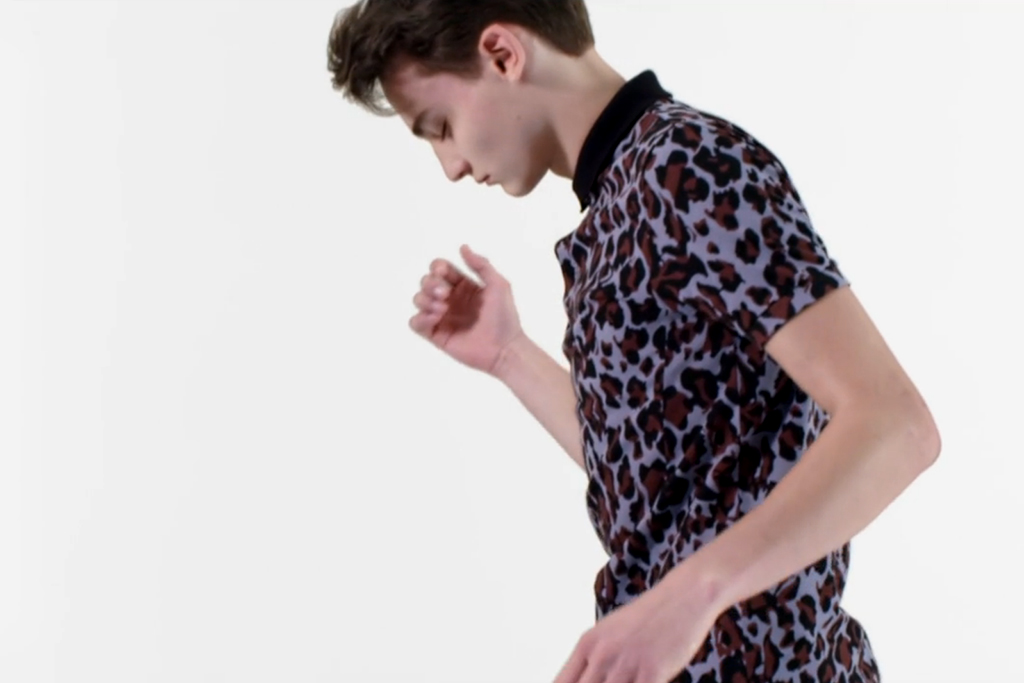"""Raf Simons x Fred Perry Laurel Wreath 2013 Spring/Summer """"Collage"""" Collection Video"""