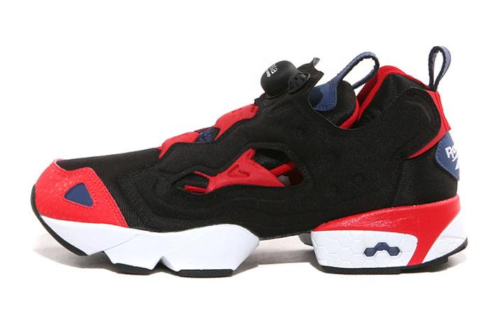 Reebok 2013 Spring Pump Fury Classic Black/Red/Blue