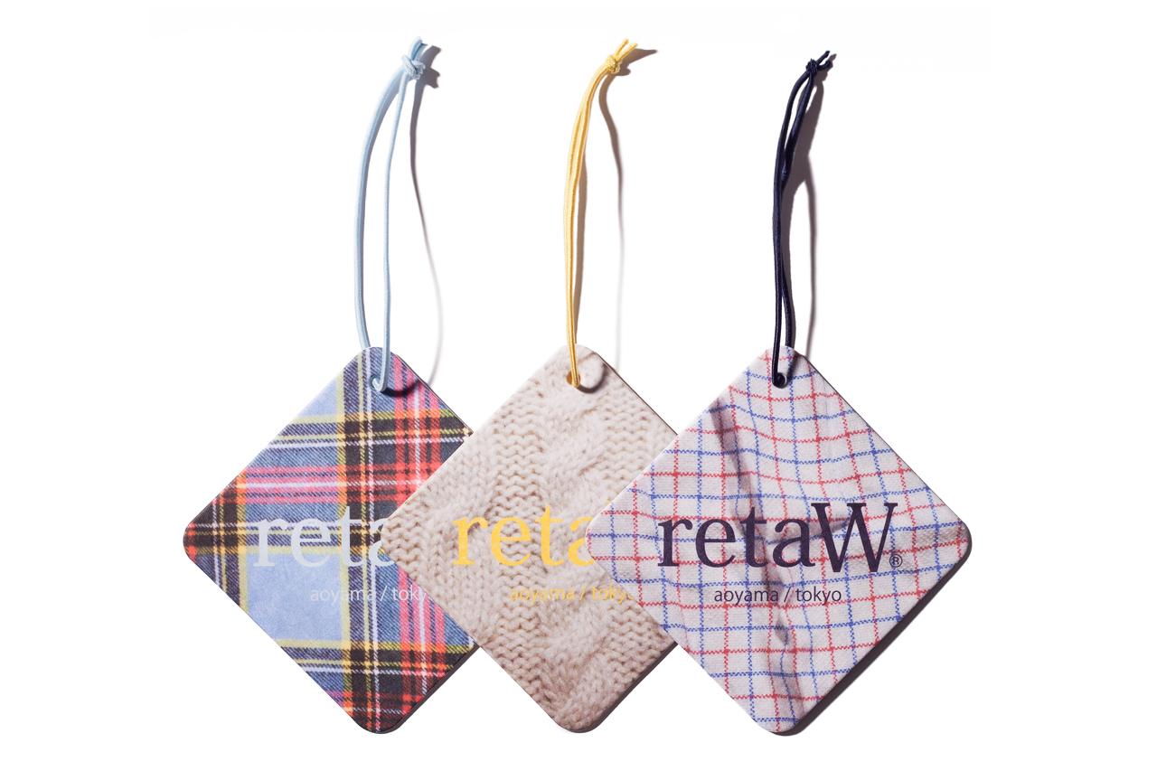 retaW Fragrance Car Tags