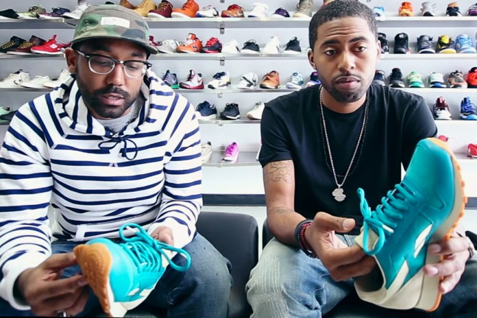 Rick Williams and Roland Coit of Burn Rubber Talk Detroit & the Reebok 30th Anniversary Classic Leather