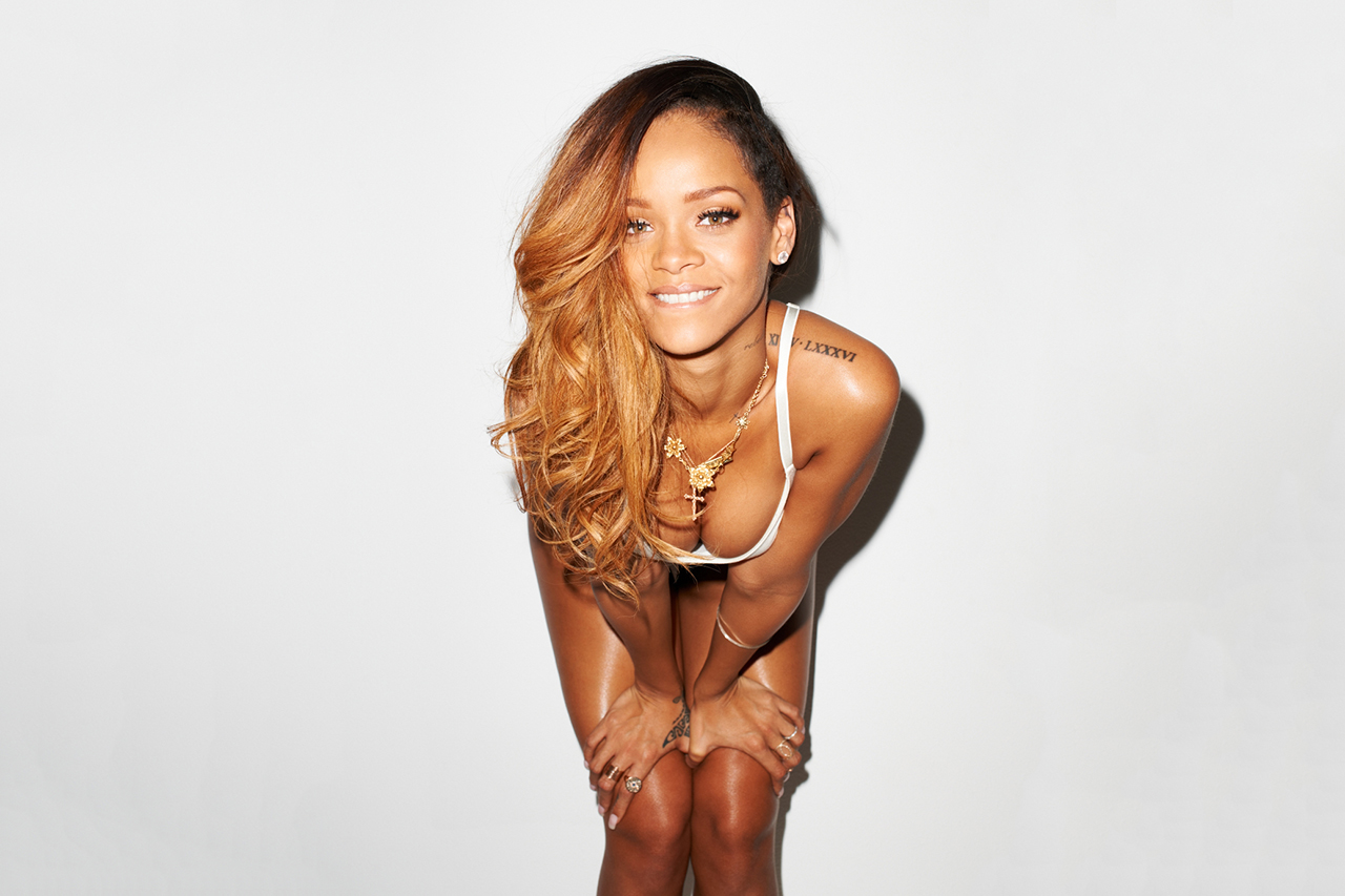 rihanna by terry richardson for rolling stone