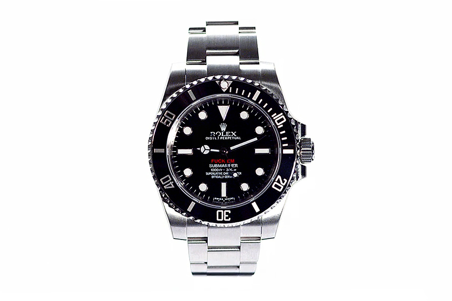 Supreme 2013 Spring/Summer Customized Rolex Submariner