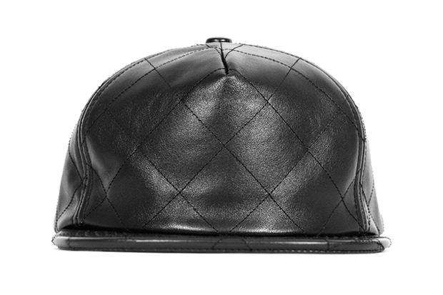 Stampd Black Quilted Lambskin Snapback