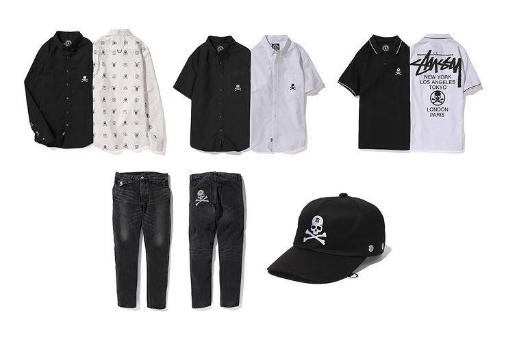 """Stussy x mastermind JAPAN 2013 """"group.2"""" Collection"""