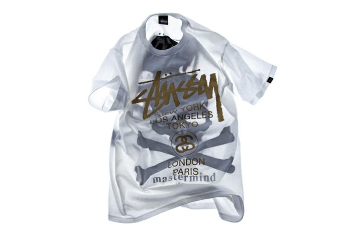 Stussy x mastermind JAPAN Shadow Skull WT T-Shirt EYESCREAM Limited Edition