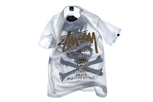 Stussy x mastermind JAPAN Shadow Skull WT T-Shirt EYESCREAM Limited Edition