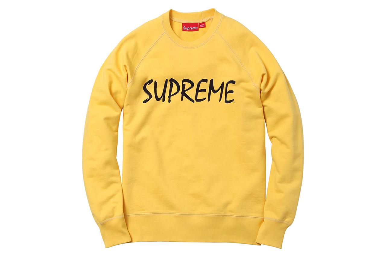 Supreme 2013 Spring/Summer Apparel Collection
