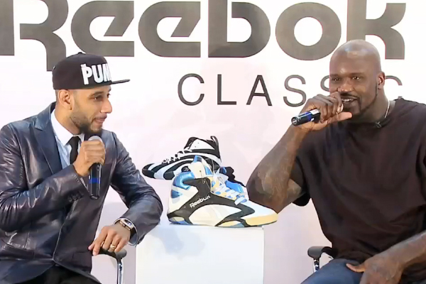 Swizz Beatz and Shaq Discuss the Return of the Reebok Shaq Attaq and Shaqnosis