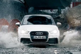 The Audi A1 Quattro is Put to the Test in Munich