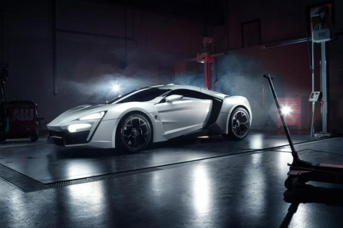 The Lykan Hypersport from W Motors