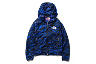 THE NORTH FACE PURPLE LABEL 2013 Spring/Summer Black & Blue Zebra Collection
