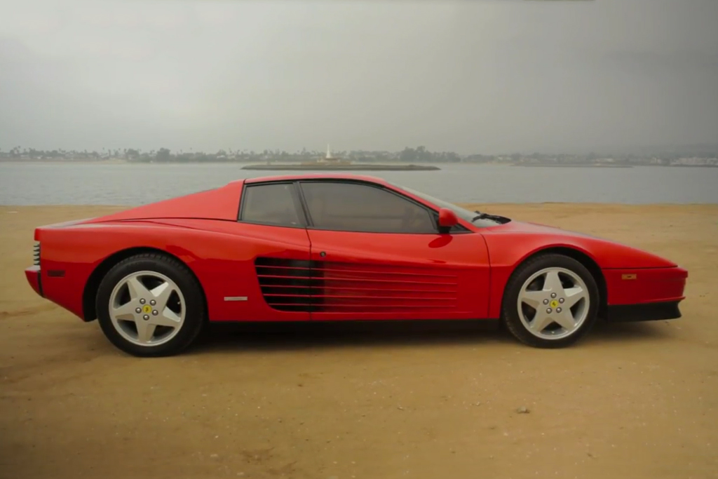 The Presence of the Ferrari Testarossa