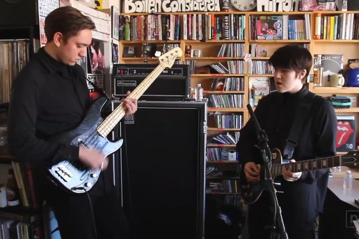 "The xx Performs ""Angels"" & ""Sunset"" on NPR's Tiny Desk Concert Series"