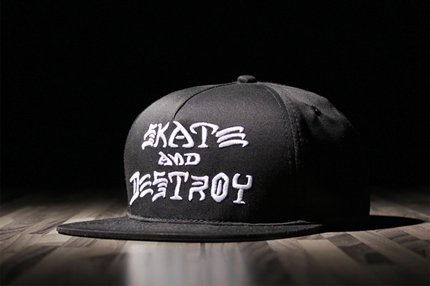 "Thrasher ""SKATE AND DESTROY"" Snapback"
