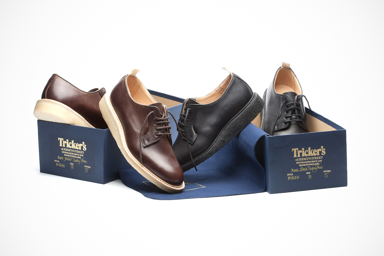 "Tricker's for Norse Projects ""Blucher"" Shoe"
