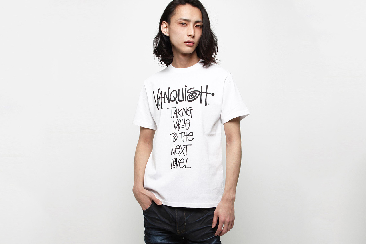 "VANQUISH x Stussy ""Taking Value To The Next Level"" T-Shirt"