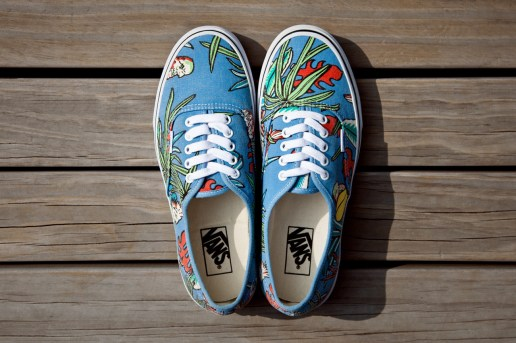 "Vans California Van Doren Series 2013 Spring Authentic CA ""Parrot"""