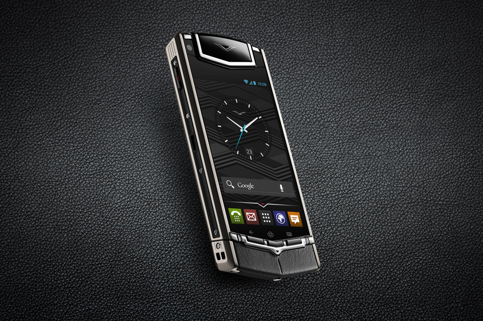 vertu launches its first android powered smartphone