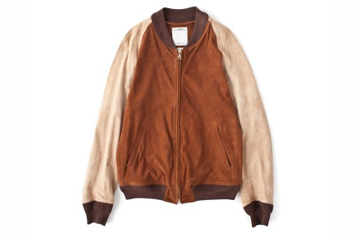 visvim VARSITY JKT SUEDE IT *F.I.L. EXCLUSIVE