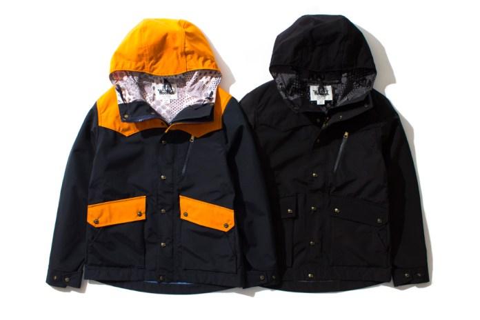 Woolrich x nanamica Black Mountain Jacket