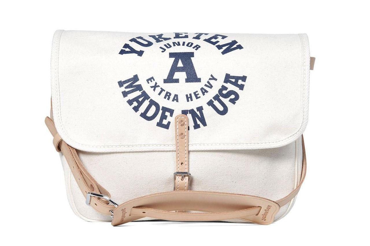 Yuketen Natural Canvas Mailman Bag