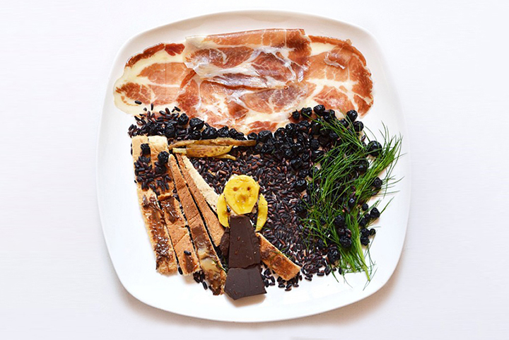 31 days of creativity with food by hong yi red
